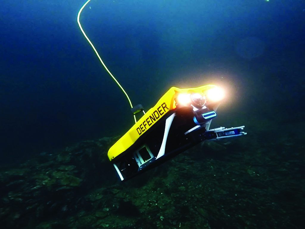 Greensea software allows ROV to hold pitch
